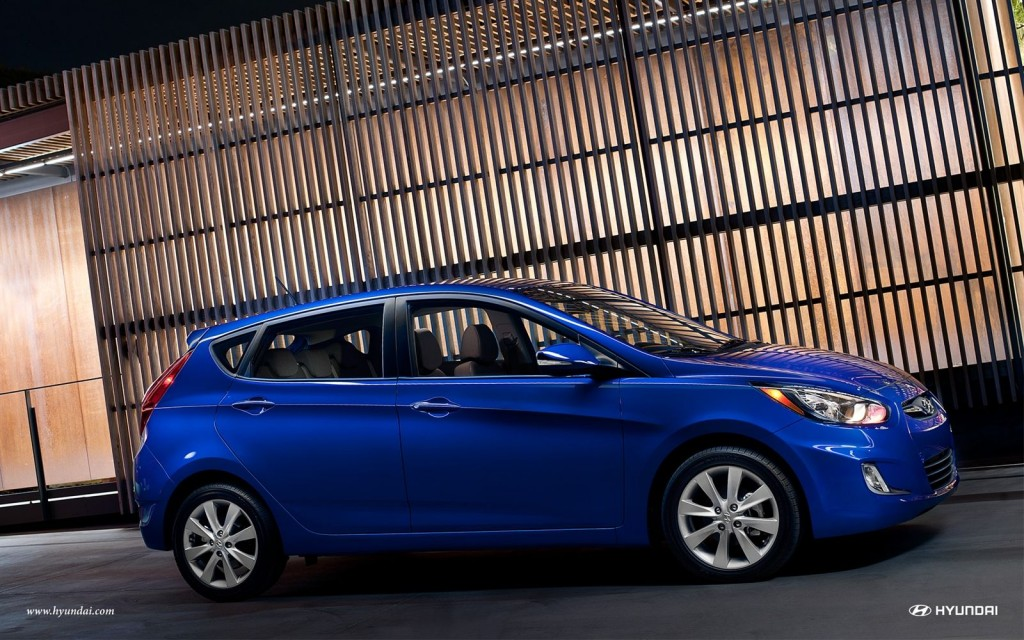 The 2013 Hyundai Accent at Group 1