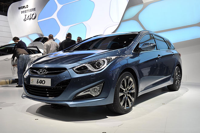 Hyundai i40 Wins in Germany