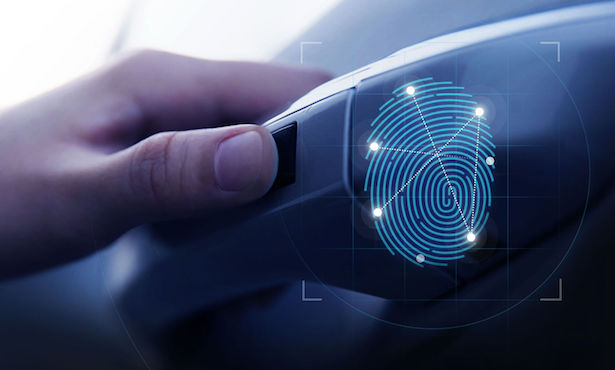 Hyundai Fingerprint Scanner