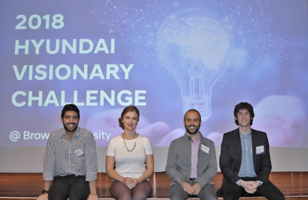 The Winners of the 2018 Visionary Challenge