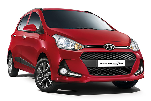 The Hyundai Grand i10 Facelift