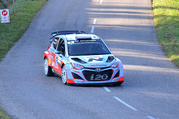 Hyundai Shell World Rally Team Celebrates Three Car Finish in France