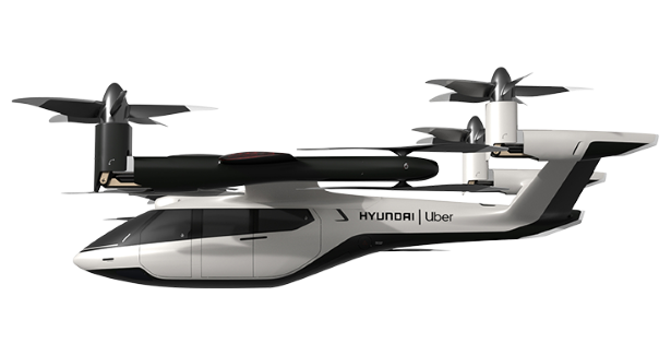 Hyundai Uber Flying Taxi