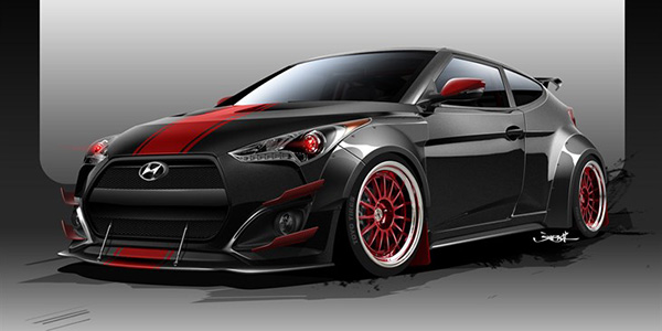 Veloster Turbo: Blood Type OH RACING!