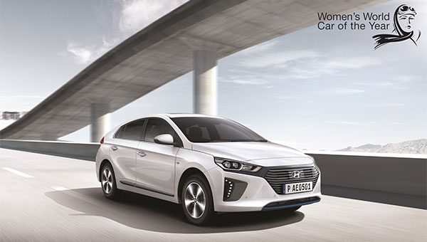 The Hyundai Ioniq Wins Women's World Car of the Year