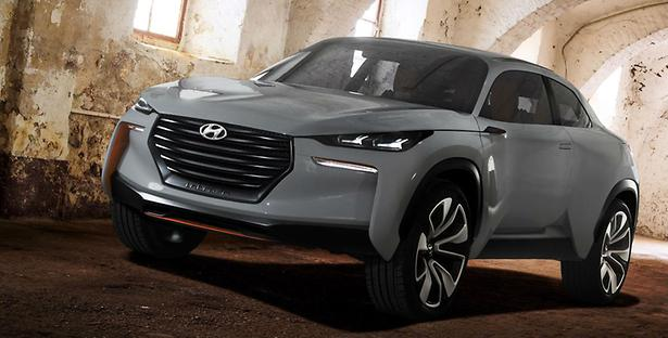 Hyundai's New Flagship Design?